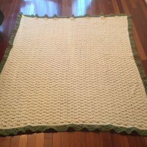 Other - Handmade crocheted throw